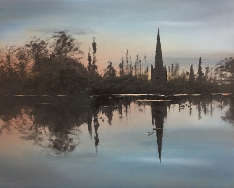 St Malachy's Mirror (Hillsborough Lake)