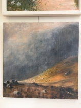 'The Poisoned Glen' by Deirdre Burns. Oil. £395.