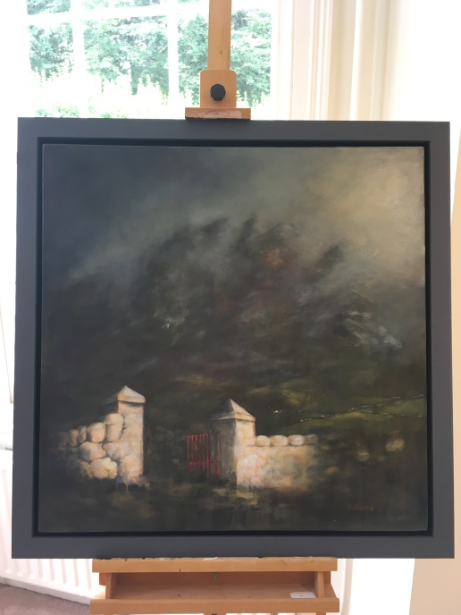 'Mourne gate' by Alison Burns. Acrylic. £590.