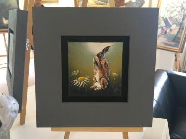 SOLD: 'Morning wash 2' by Glynis R. Burns. Oil. £130.