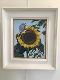 'Sunflight' by Glynis R. Burns. Oil. £380.