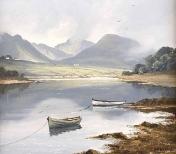 Lake Near Clifden
