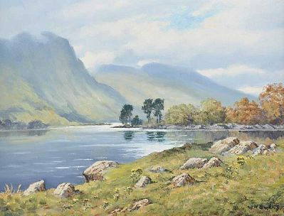 Lough Doo Connemara 12x16