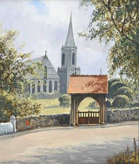 Lych Gate Drumbo Church 12x10