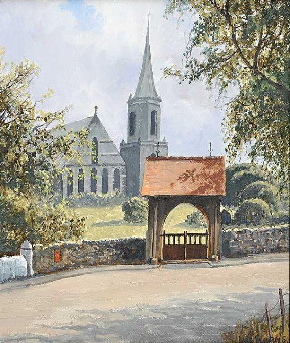 Lych Gate Drumbo Church 12x10