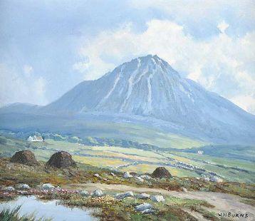 Mount Errigal Donegal 10x12