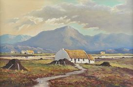 Muckish Mountain Donegal 18x28