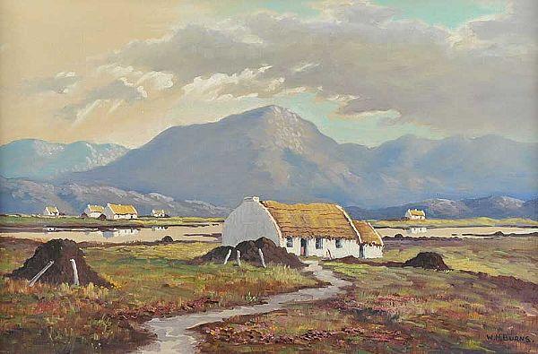 Muckish Mountain Donegal 18x28