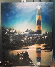 30. St john's Point Lighthouse by Claire Burns £425