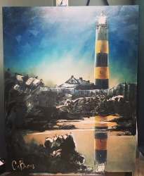 30. St john's Point Lighthouse by Claire Burns