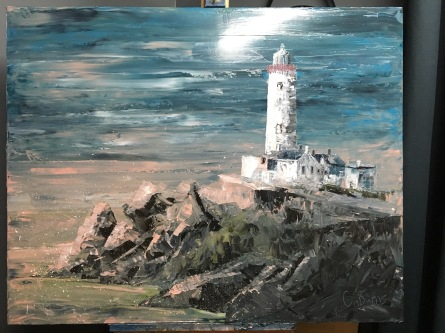 28. Fanad Head by Claire Burns £475