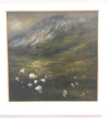 2. Bog Cotton Field by Alison Burns £550
