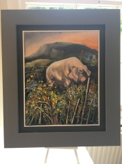22. Pig in the Meadow Under Muckish £380
