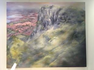 32. Cavehill, Belfast by Alison Watt (very large piece) £1,100