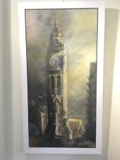 34. Albert Clock by Alison Burns (very large) £950