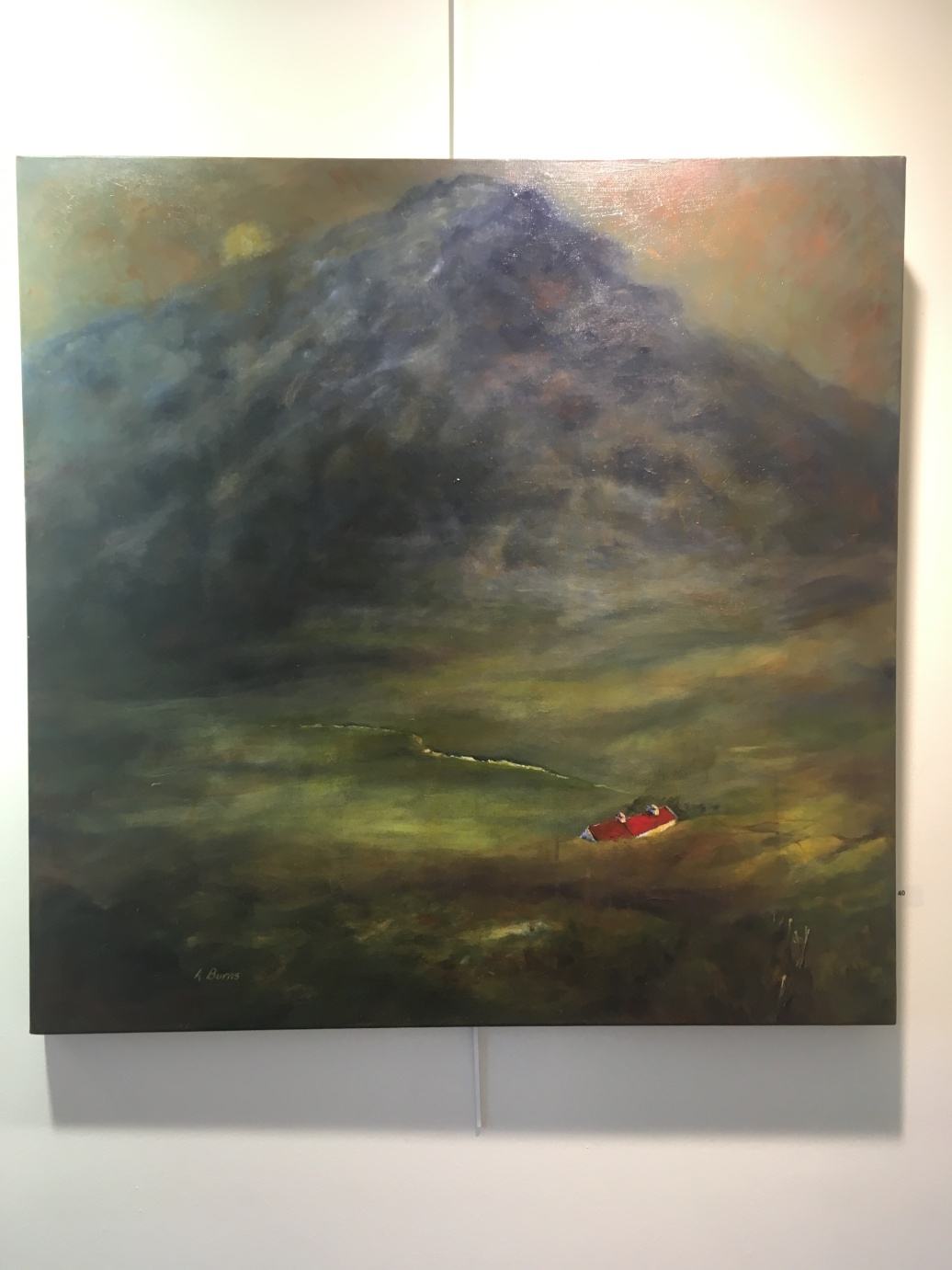 40. Cottage Beneath Muckish by Alison Burns £500